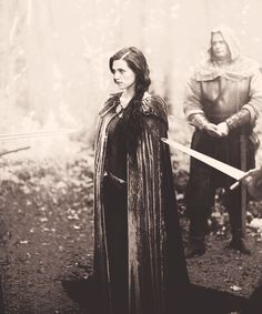 Katie McGrath sword weapon knife point danger medieval past history merlin morganna girl dark brown black hair Story Inspiration, Writing Inspiration, Character Inspiration, Story Ideas, Fantasy Characters, Female Characters, Hawke Dragon Age, Medieval, Between Two Worlds