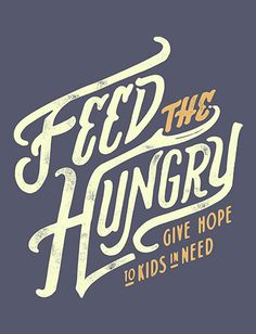 This piece boldly captures the epitome of Feed my Starving Children, a message so simple yet such a distant reality for many of these children.