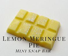 Soy Wax Melts Lemon Meringue Pie Scented Wax Tart Soy Wax
