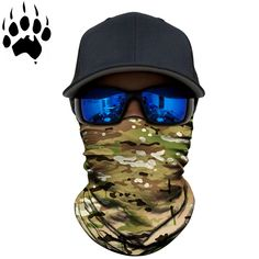 Stay protected from the elements and hidden with a snake skin camouflage face shield from Bushpro Outdoors Snake Skin, Camouflage, Hunting, Free Shipping, Face, Fashion, Moda, Military Camouflage, La Mode