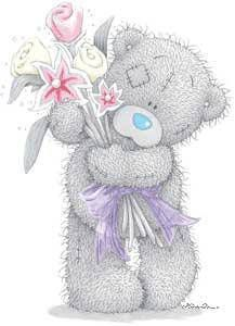 Tatty teddy bear personnages pinterest lapin calin calin et ourson - Coeur nounours ...