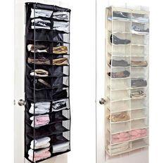 Smart Rack Shelves Shoes Storage Organise 26 Pair Over Door Hanging Save Space in Home, Furniture & DIY, Storage Solutions, Shoe Storage | eBay
