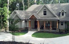 Luxurious Lodge-Like Living - 12261JL | 1st Floor Master Suite, Bonus Room, CAD Available, Craftsman, European, In-Law Suite, MBR Sitting Area, Mountain, PDF, Photo Gallery, Split Bedrooms, Traditional | Architectural Designs