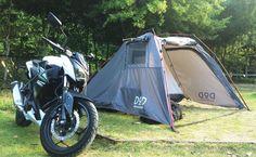 キャンプツーリング道具を選ぶ7つのコツと秘密道具3選。
