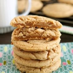 http://www.dessertnowdinnerlater.com/2015/05/thick-and-chewy-peanut-butter-cookies/