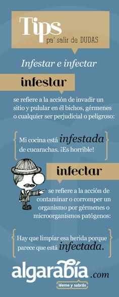 Infestar e infectar