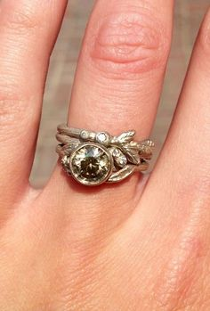 beautiful and unique. If an engagement ring has to be diamonds, it ought to be this.