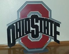 This item is unavailable Ohio State Decor, Ohio State Football, Ohio State Buckeyes, Buckeyes Football, Ohio State Canvas, Metal Walls, Metal Wall Art, Bars For Home, Large Wall Art
