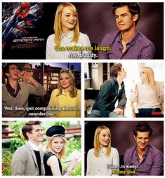 The Amazing Spider-Man - Andrew Garfield - Emma Stone