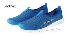 Men's Mesh Design Sneakers Athletic Sports Shoes (Size 45/Blue) Footwear 5385805 - https://xtremepurchase.com/TechStore/2016/09/01/sports-outdoors-footwear-5385805/
