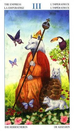 The Empress - Tarot of the Animal Lords