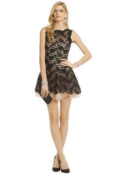 NHA KHANH Noir Timeless Love Dress