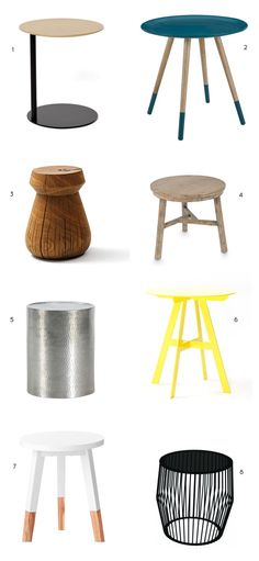 Lujo Designer Furniture BLOG | Side Tables for Bean Bag Chairs & Hammocks