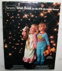 Sears christmas Wish Book- looked forward to it Every year!
