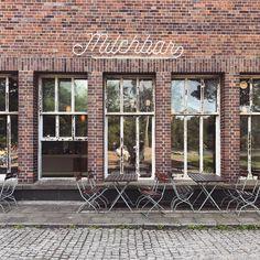 Milchbar 🥛/ #berlin#köpenick#retro#milchbar#funkhausberlin#funkhaus#cafe