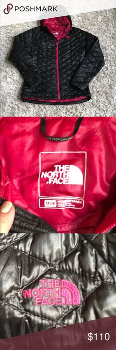 North face women's Thermo Ball jacket This North Face jacket is like new in excellent condition no rips or tears. I bought another one but longer so really don't need 2. I love the pink lining 💗 The North Face Other