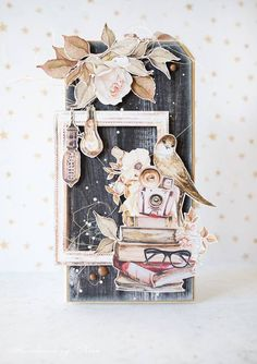 Sculpture Art, Sculptures, Explosion Box, December Daily, Pretty Cards, Diy Scrapbook, Book Making, Paper Cards, Altered Books
