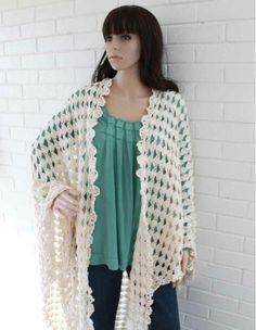 Santa Rosa Shawl Crochet Pattern