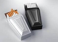 Antismoke packaging by Behance. This is an impressive packaging design that shows the smokers what the cigarettes can offer to them - a fast path to death. As every day each smoker carries a pack of cigarettes, meanwhile they carry death. Design Visual, Creative Design, Clever Packaging, Packaging Design, Product Packaging, Packaging Ideas, Innovative Packaging, Drug Packaging, Anti Tabaco