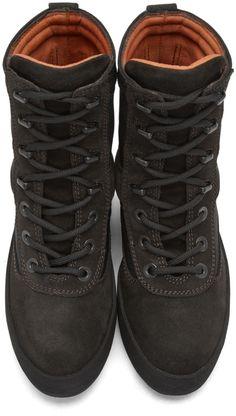 YEEZY Season 3 - Black Military Boots