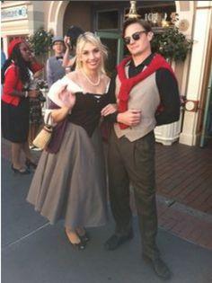 Dapper Princess Aurora and Prince Phillip