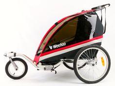 Bicycle Trailers for Kids by Weehoo   Let the adventure begin - kids love it!