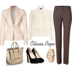 Olivia Pope suits