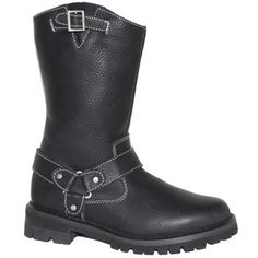 @Overstock - AdTec Women's 11-inch Biker Boots - The most technologically advanced AdTec boots emphasize durability, long-term wear ability, protection and are environmentally friendly. They feature full-grain oiled leather upper, plain soft toe, side zipper for a durable fit.  http://www.overstock.com/Clothing-Shoes/AdTec-Womens-11-inch-Biker-Boots/7472087/product.html?CID=214117 $92.99