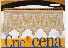 CORTINAS EM CROCHET - Dryca Silva - Álbumes web de Picasa