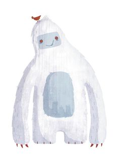 """Pictoplasma/Missink link project ''Draw me A Yeti''. My illustration of Yeti  selected & took part in the exhibition of Pictoplasma, at the Museum la Gaite Lyrique, Paris. Also, printed in the compilation book """"Pictoplasma - The Character Compendium"""" featuring artwork  by 200 international artists."""