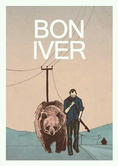 'bon iver - American indie folk' Poster by beatlespub Bon Iver, Music Love, Music Is Life, Good Music, Hipster Graphic Design, Graphic Design Inspiration, Band Posters, Rock Posters, Arctic Monkeys