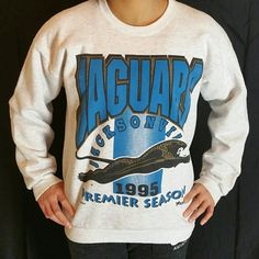 This Vintage 1995 Jacksonville Jaguars NFL Crewneck is now available on Etsy at www.JustOneVintage.com. swing by and cop something fresh. Follow us on Instagram @justonevintage