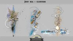 Just sea clusters by Graphic Creations