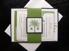 Palm Tree / Destination / Beach Layered Wedding by citlali on Etsy, $2.00