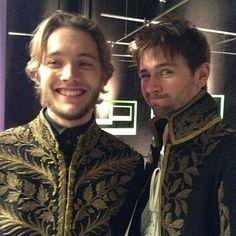 Toby Regbo (Prince Francis) and Torrance Coombs (Sebastian) #Reign #Photoshoot❤️