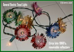 And we here in Croton certainly do, then have we got news for you: a message from Paul Race. Yes folks we are in heaven! Vintage Christmas Lights, 1950s Christmas, Antique Christmas, Retro Vintage, Love You, Antiques, Electric, Heaven, Antiquities