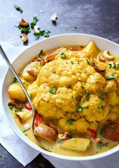 Slow-Cooker-Cashew-cauliflower-Curry