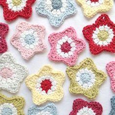 Bees and Appletrees (BLOG): een ster haken - crochet star tutorial