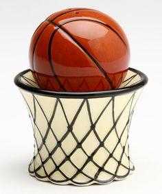 Another great find on #zulily! Basketball Salt & Pepper Shakers by Sugar High Social #zulilyfinds