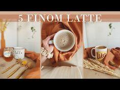 5 egészséges és finom latte - kávé helyett - YouTube V60 Coffee, Latte, Smoothies, Coffee Maker, Kitchen Appliances, Drinks, Tableware, Youtube, Smoothie