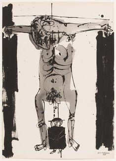 Millares, Manuel: Sin título Modern Art, Contemporary Art, Etching Prints, Mark Rothko, Book Illustration, Aesthetic Art, Cool Drawings, Art Inspo, Printmaking