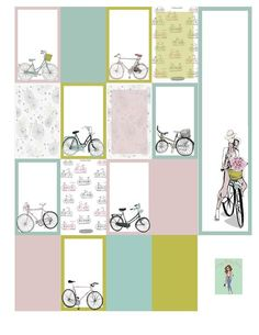 Going for a Bike Ride Planner Stickers