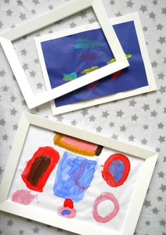Have you heard of magnetic picture frames from Great Little Trading Co.? A genius way of displaying children's artwork in your house from GLTC
