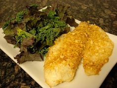 Generation Y Foodie: Almond Crusted Tilapia