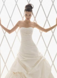 Sleeveless Dress - Simple - No Beading, No Lace - Vertical Gathering on the Bodice, Horizontal Gathering at the Waist, Gathering on the Skirt
