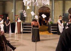 Homenaje a Teresa en el palacio ducal de Pastrana
