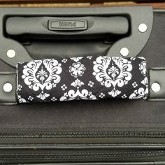 I love Damask pattern, especially black and white! #luggagehandlecover #luggagehandlecovers #suitcase #suitcasetravels #suitcases #suitcaselife #suitcasetravel #suitcasestravel #trip #journey #jaunt #go #move #locomotion #change_of_location #locomote #travelers #trips #baggage #suitcases #suitcase #bags #belongings #cargo #backpack #bag #valise #handbag #bag #grip #traveling_bag #briefcase #backpack #luggage #valise #handbag #footlocker #trunk #gadgets #furnishings #peripherals #fittings…