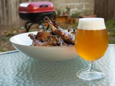 Beer and BBQ go together like peanut butter and jelly, but what tastes good with chicken may not taste as great with sausages. Serious Eats breaks down the best beers to pair with all your grilling favorites! | The Ultimate Backyard BBQ Beer Pairing Cheat Sheet
