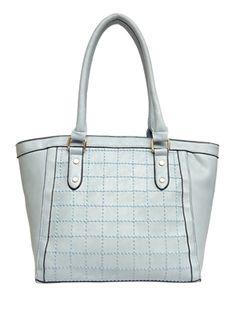 Baby Blue Paris Sched Handbag
