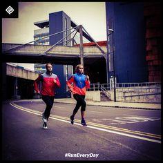 Run with friends. Go again. #RunEveryDay